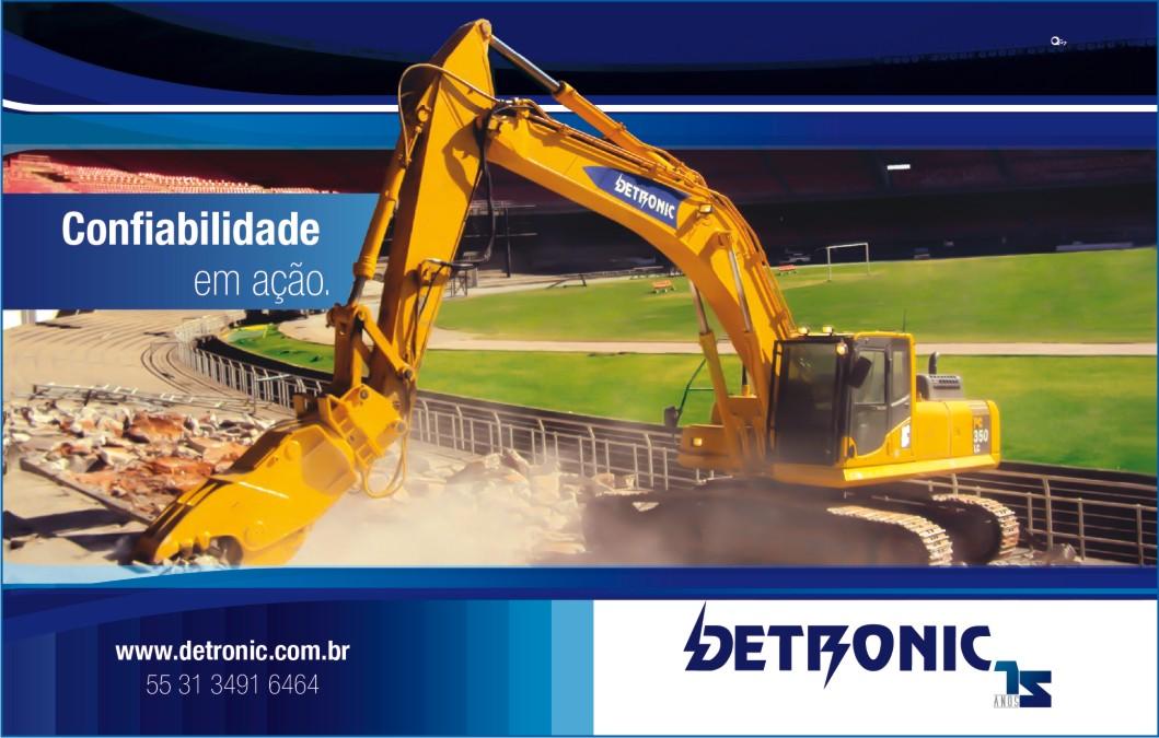 Detronic é destaque na Revista Construtores