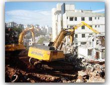 Detronic começa a demolir Edifício no Bairro Buritis