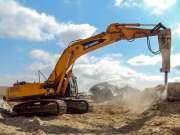 escavadeira--rompedor